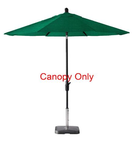 Secret Garden Home Goods 9ft 8 Ribs Market Umbrella Replacement