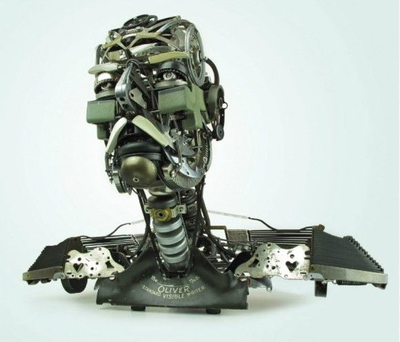 Typewriters to Sculptures by Jeremy Mayer