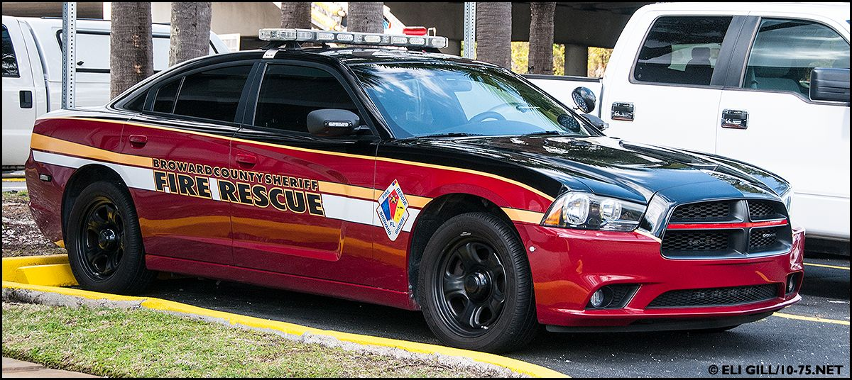 Broward County (FL) Sheriff Fire Rescue Dodge Charger