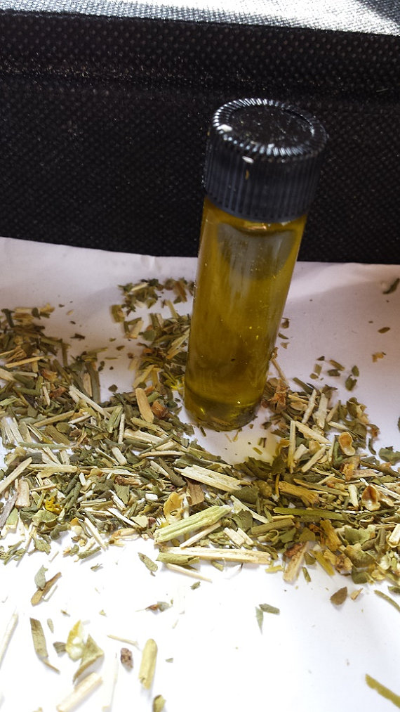 Rue Oil -Booster, Protection, Hex breaking, Prosperity | Herbs