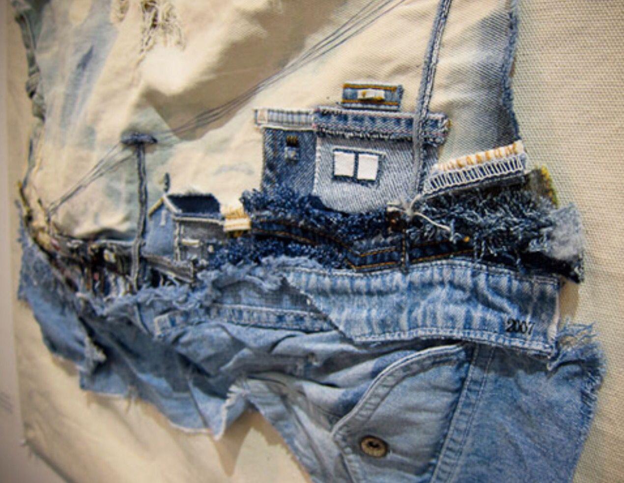 джинсовый текстиль