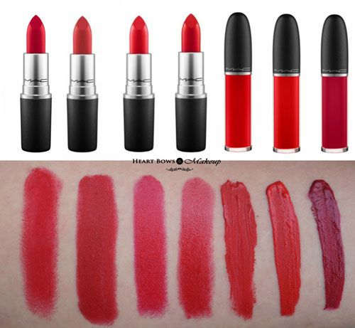 Best Mac Red Lipstick For Fair Olive Skintone Top In India - Best mac lipsticks shades for all type of skin tone