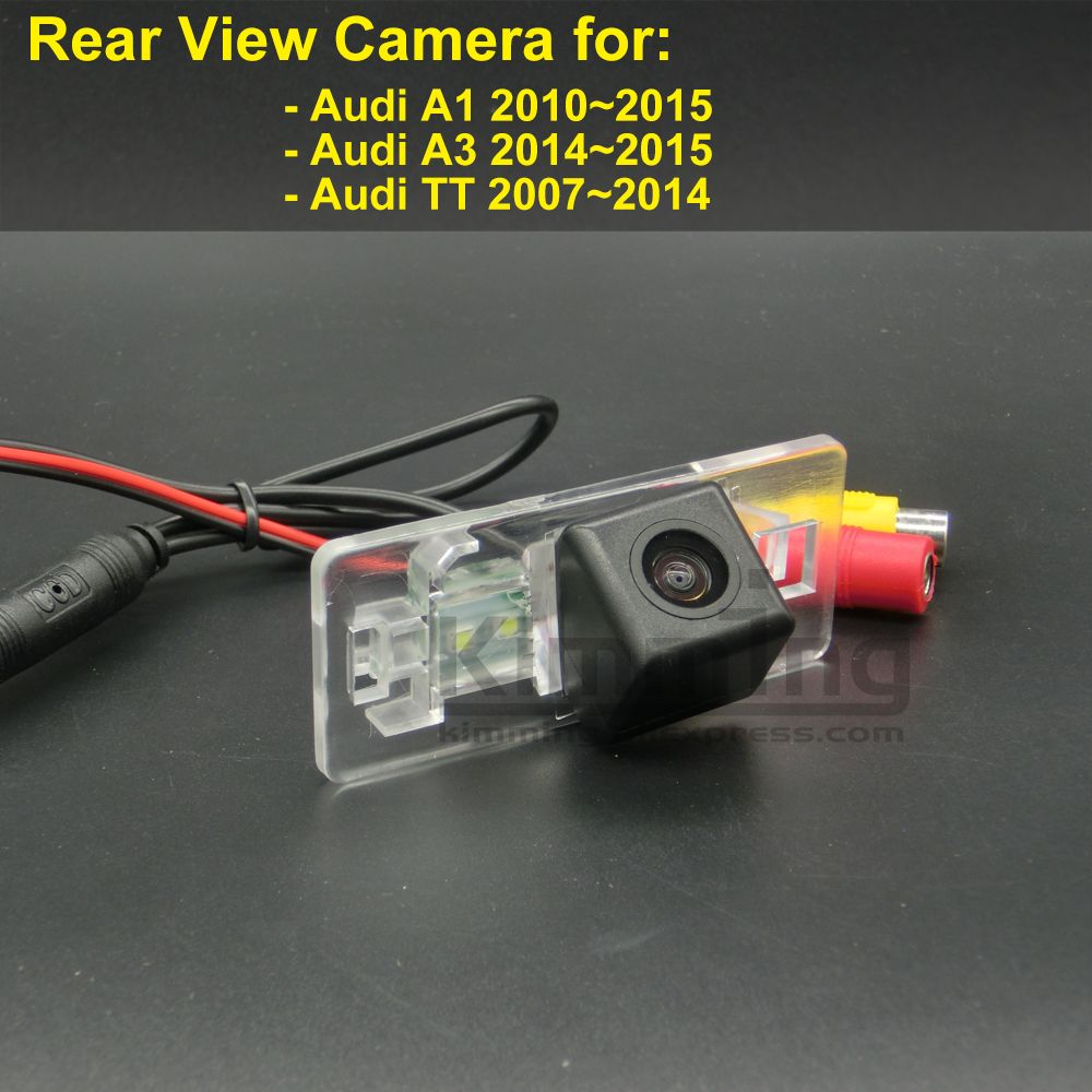 car rear view camera for audi a1 a3 tt tts 8j 2007 2008 2009 2010 2011 2012 2013 2014 2015 wireless wired reversing camera ccd [ 1000 x 1000 Pixel ]