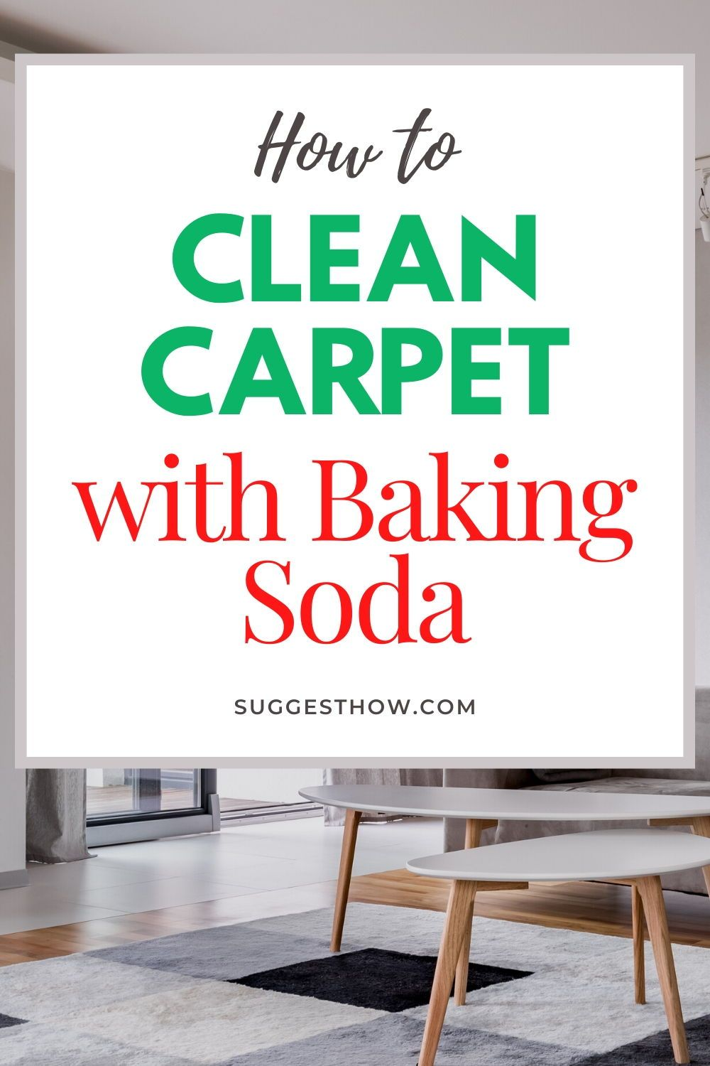 How to Clean Carpet with Baking Soda 6 Steps to Follow in