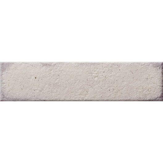 Carrelage sol et mur calcaire, Street l75 x L30 cm ERNESTINE - peinture speciale carrelage sol