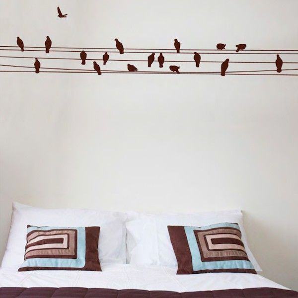 create the right mood with this beautiful bird wall decals. these