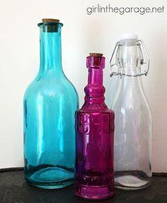 Bejeweled Bottles Bottle