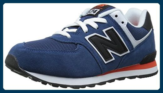 New Balance KL574MTG Schuhe blue-black-red - 39 - Sneakers ...