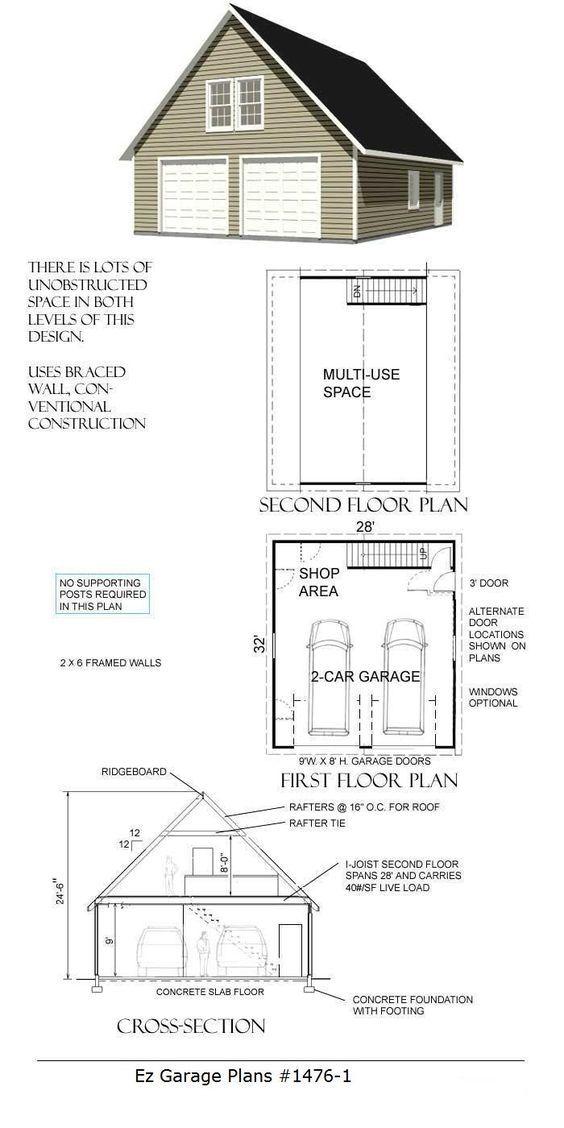 ez garage plans | house plans | pinterest | garage plans, breezeway