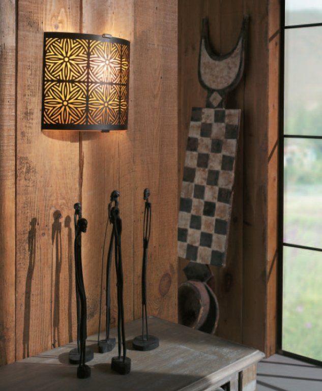 Бра AALIYAH wall lamps rust 1x40W 230V 33185/86/10