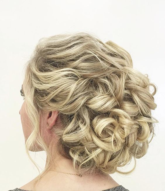 27+ Easy curly hairstyles for wedding inspirations