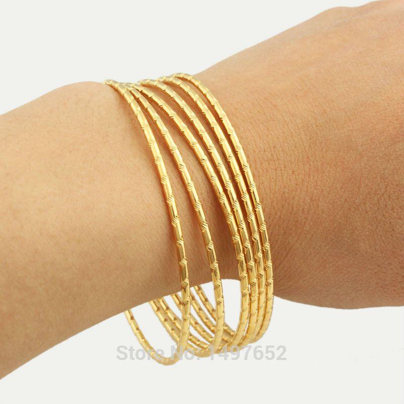 Wholesale / gold plated Ethiopian bangle bracelet bangle African ...