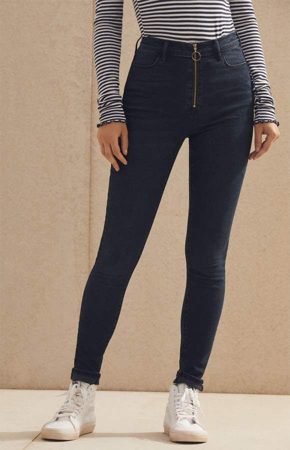 57660a424c86b5 PacSun Vixen Blue Super High Rise Jeggings in 2019 | Products ...