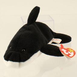b4573c88530 TY Beanie Baby - SPLASH the Whale (w  happy tush tag - ODDITY)