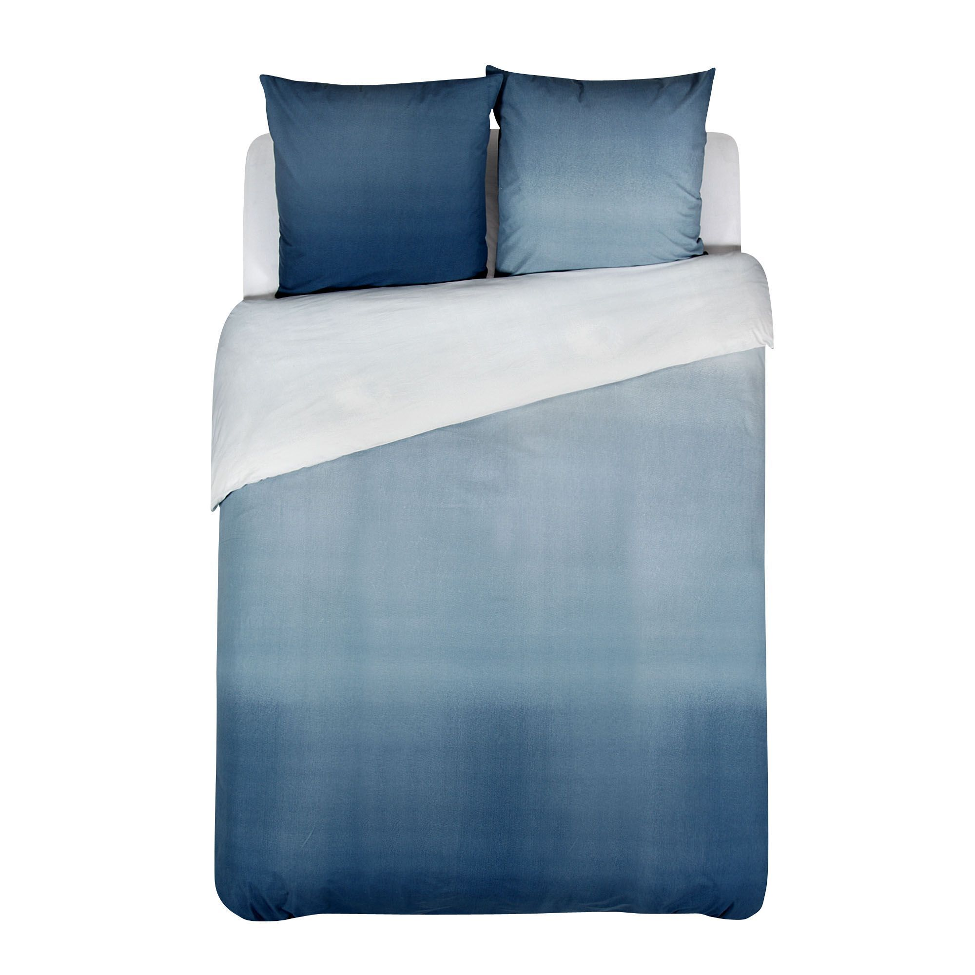 housse couette 260x240cm et 2 taies d 39 oreiller turquoise ocean les parures de lit linge de. Black Bedroom Furniture Sets. Home Design Ideas