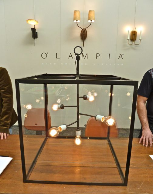 O Lampia Light Box Branch Chandelier