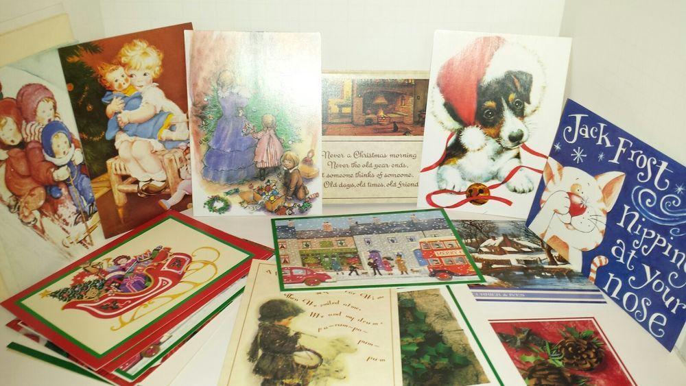 22 Vtg Burgoyne Christmas Greeting Cards & Envelopes Drummer Boy ...