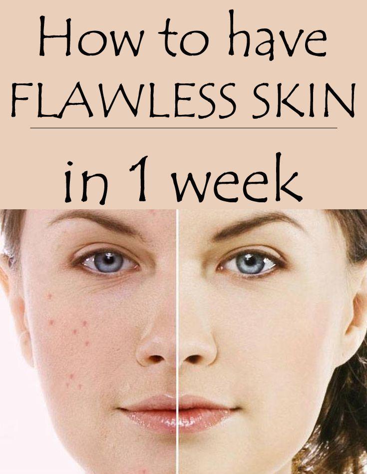 get flawless skin