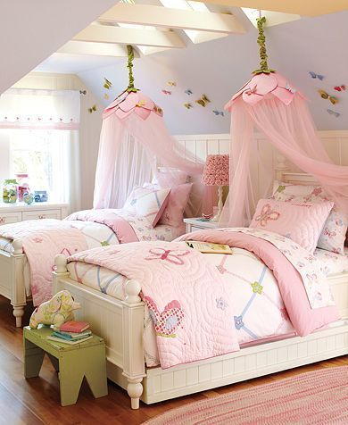 Girls' bedroom ideas : Love & Nature Bedding Collection