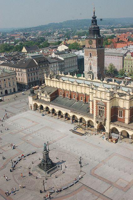 Main Market Square Krakow Poland Krakow Poland Krakow Poland