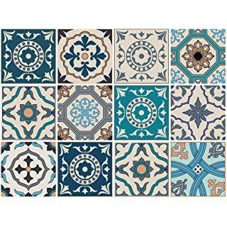 Dekorative Stickerfliesen mit tollen Motiven und ...
