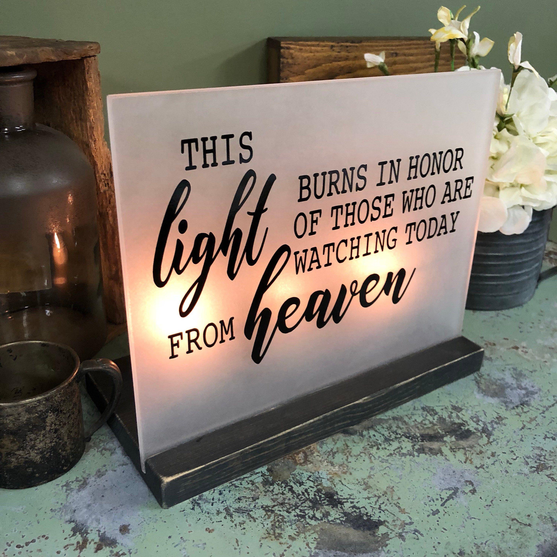 Acrylic Wedding Memorial Sign #etsy #weddings #decoration