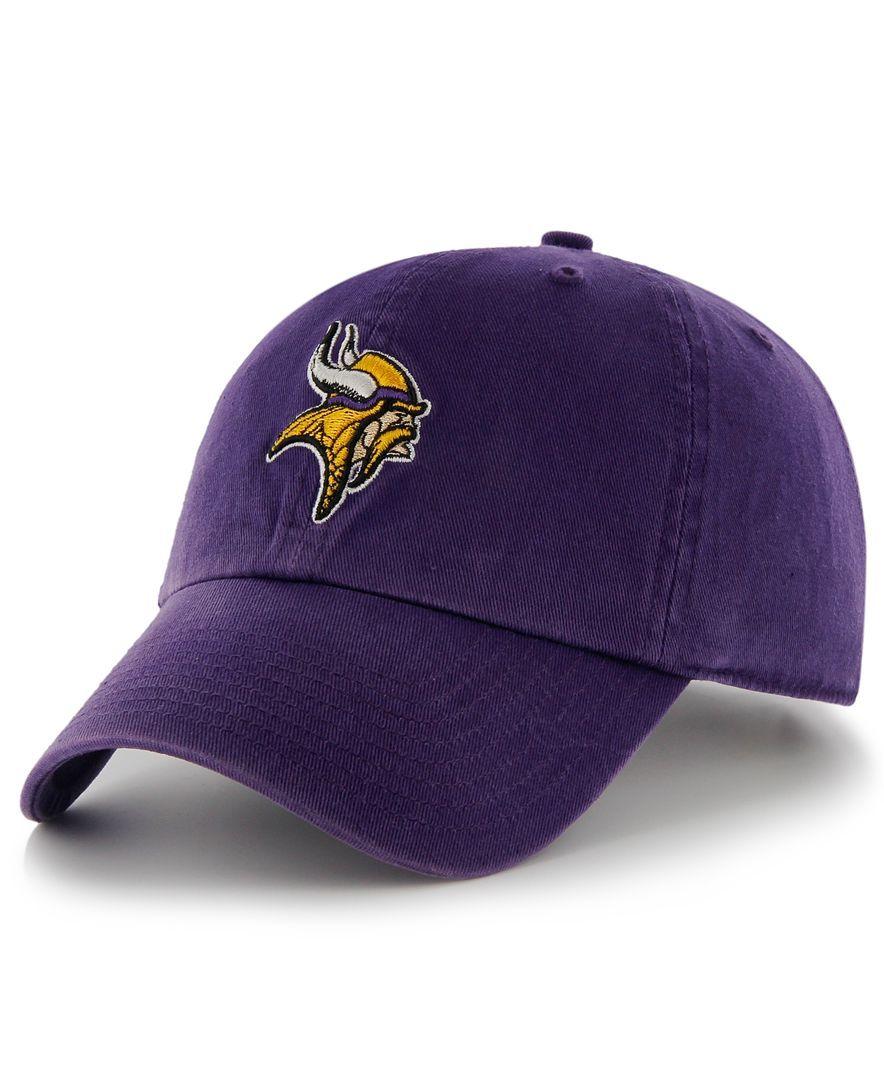 '47 Brand Nfl Hat, Minnesota Vikings Franchise Hat