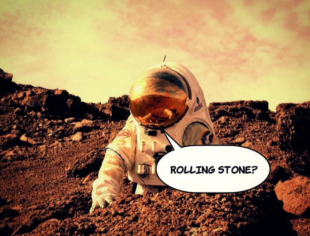 NASA has named a small rock on Mars after the Rolling Stones, which will appear on working, informal maps of the Red Planet 🔥🔭🎸🛰🚀🇺🇸