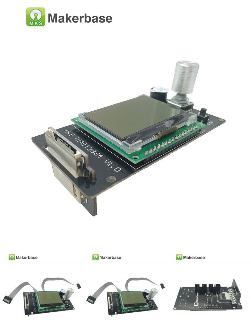 Visit to Buy] 3d printer Reprap LCD MKS MINI12864LCD mini