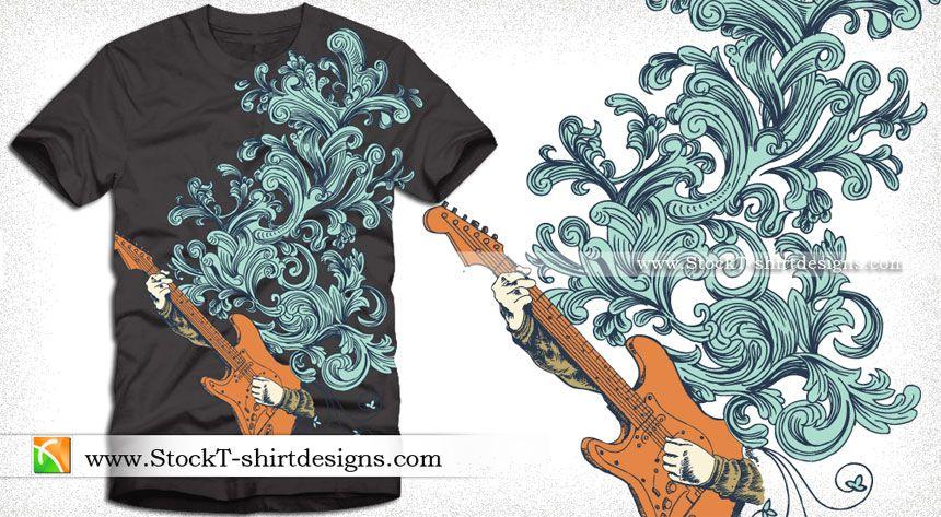 Vector Horse T-shirt Design Graphics   StockT-shirtDesigns   T ...
