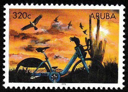 Stamp: Sustainable Energy (Aruba) Col:AW 2018-07E (с ...