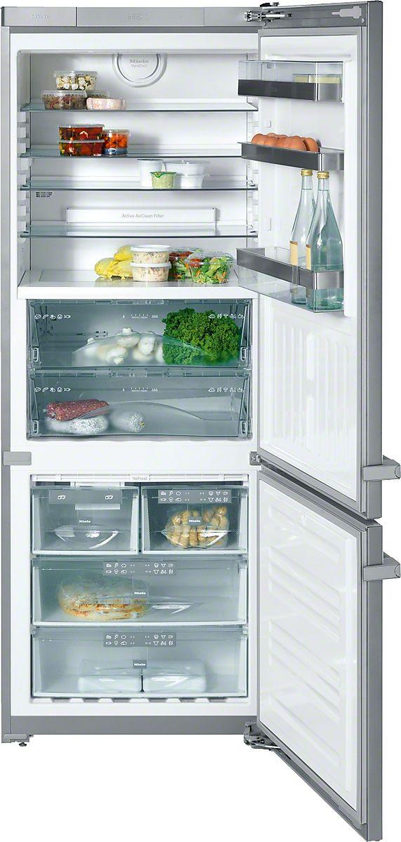 KFN 14947 SDE ed/cs-1 - Frigorífico-congelador de libre instal. almacenamiento perfecto: PerfectFresh y fabricador de cubitos.--