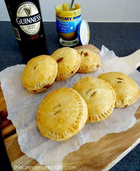 Wholemeal Guinness Corned Beef & Cabbage Hand Pies | thecinnamonscrolls.com | @cinnamonscribe