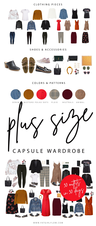Photo of Plus Size Capsule Wardrobe
