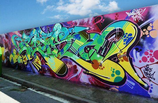 KIDZ ::: Espacio de aprendizaje y experimentación de arte urbano para niños y jóvenes