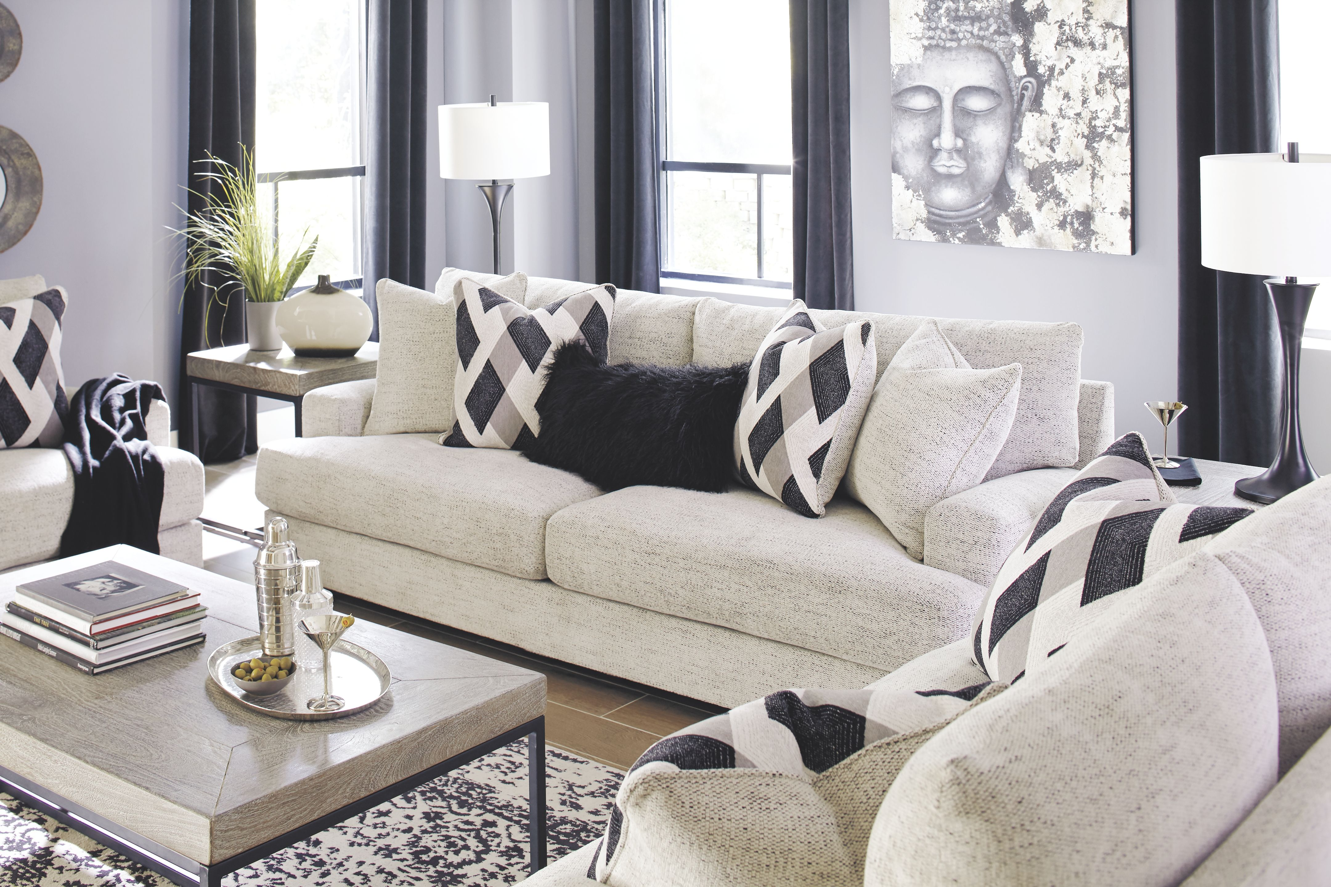 Super Geashill Sofa And Loveseat Peppercorn Products In 2019 Beutiful Home Inspiration Cosmmahrainfo