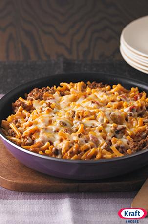 Cheesy Macaroni Beef Skillet Recipe Cheesy Macaroni Recipes Beef Skillet Recipe