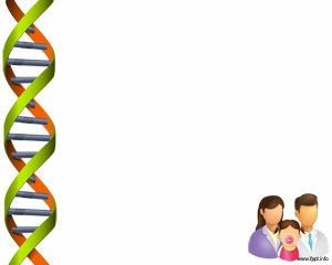 Dna Test Powerpoint Background For Dna Analysis Presentations