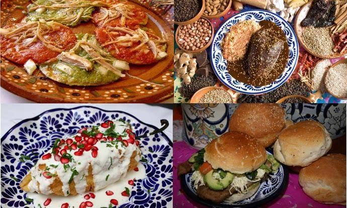 comida poblana, puebla mexico | Comida mexicana, Comida, Gastronomia