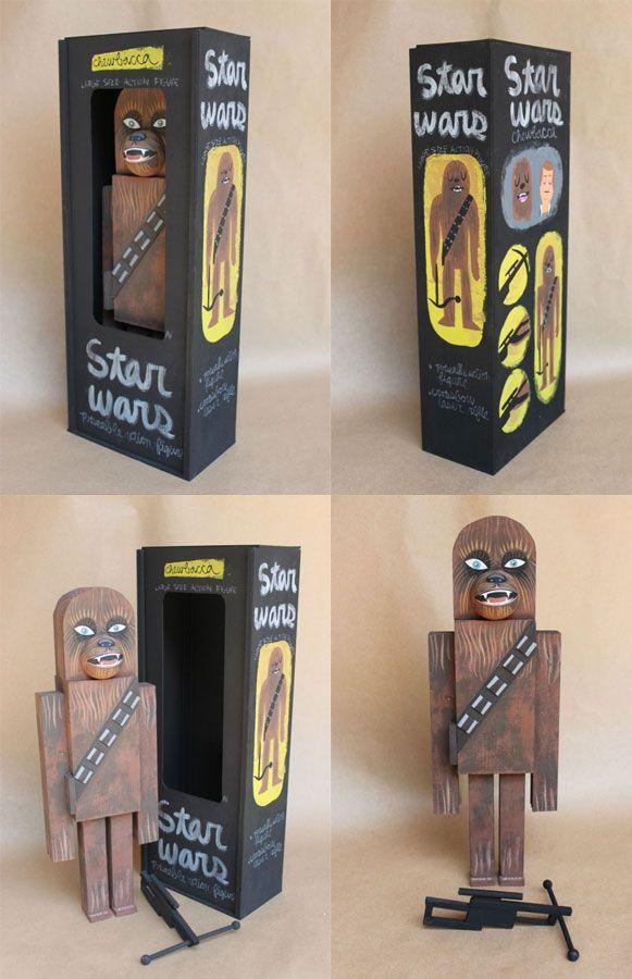 Bem Legaus!: Star Wars de madeira