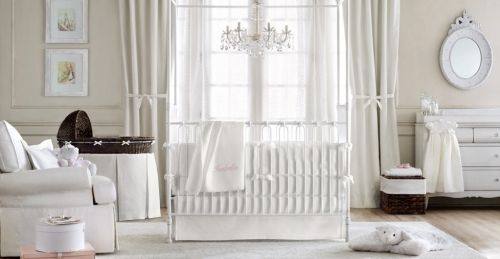einrichtungsideen luxus babyzimmer dekoration weiß | Embarazo ...