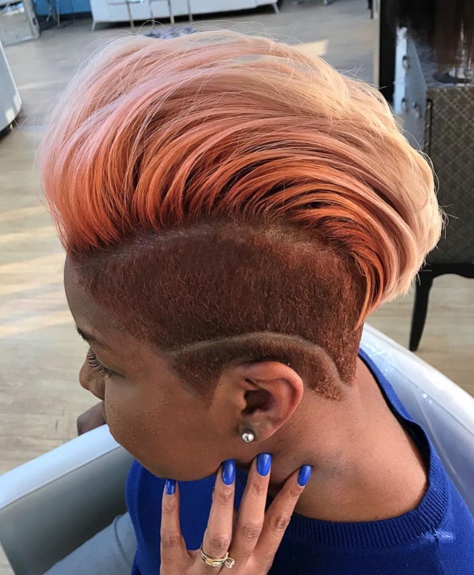 Edgy mohawk @salonpk - https://blackhairinformation.com/hairstyle-gallery/edgy-mohawk-salonpk/