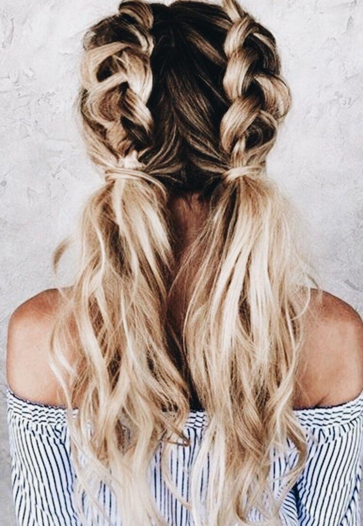 Dutch pigtails u all things beauty u pinterest dutch hair
