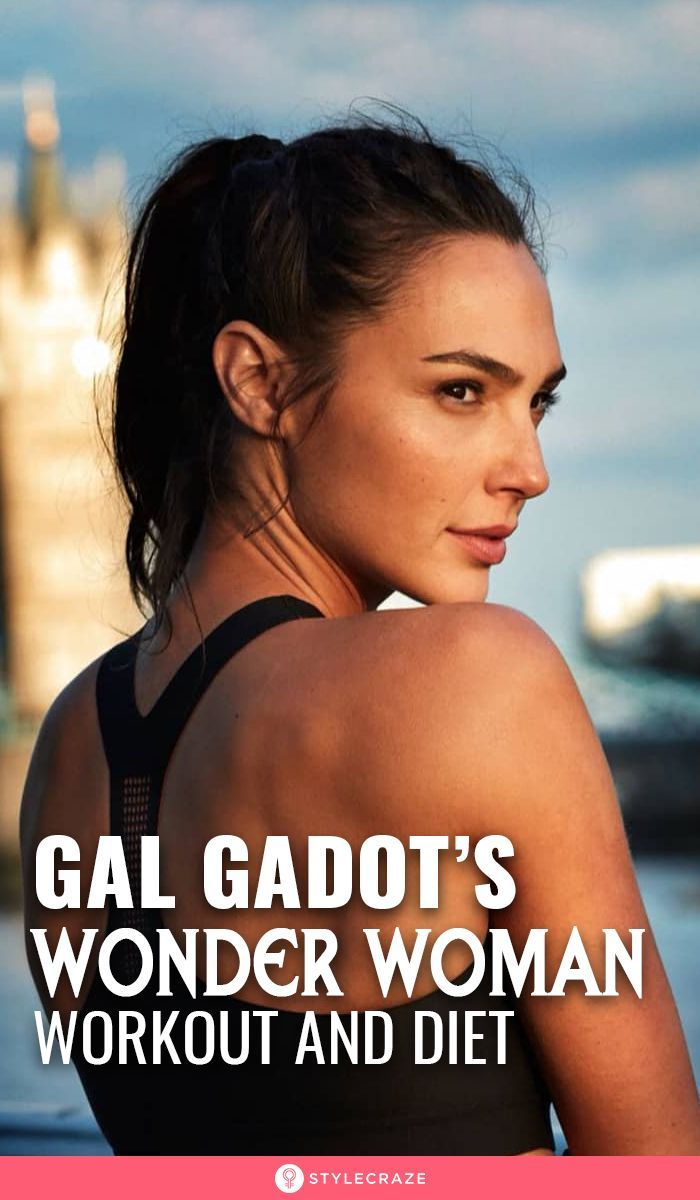 """Revealed! Gal Gadot's """"Wonder Woman"""" Workout And Diet!  #GalGadot #Workout #Diet #Health #Fitness"""