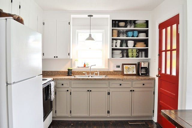 Under $1000 Kitchen Makeovers (That Look Like A Million Bucks - Kitchen Renovation On A Budget