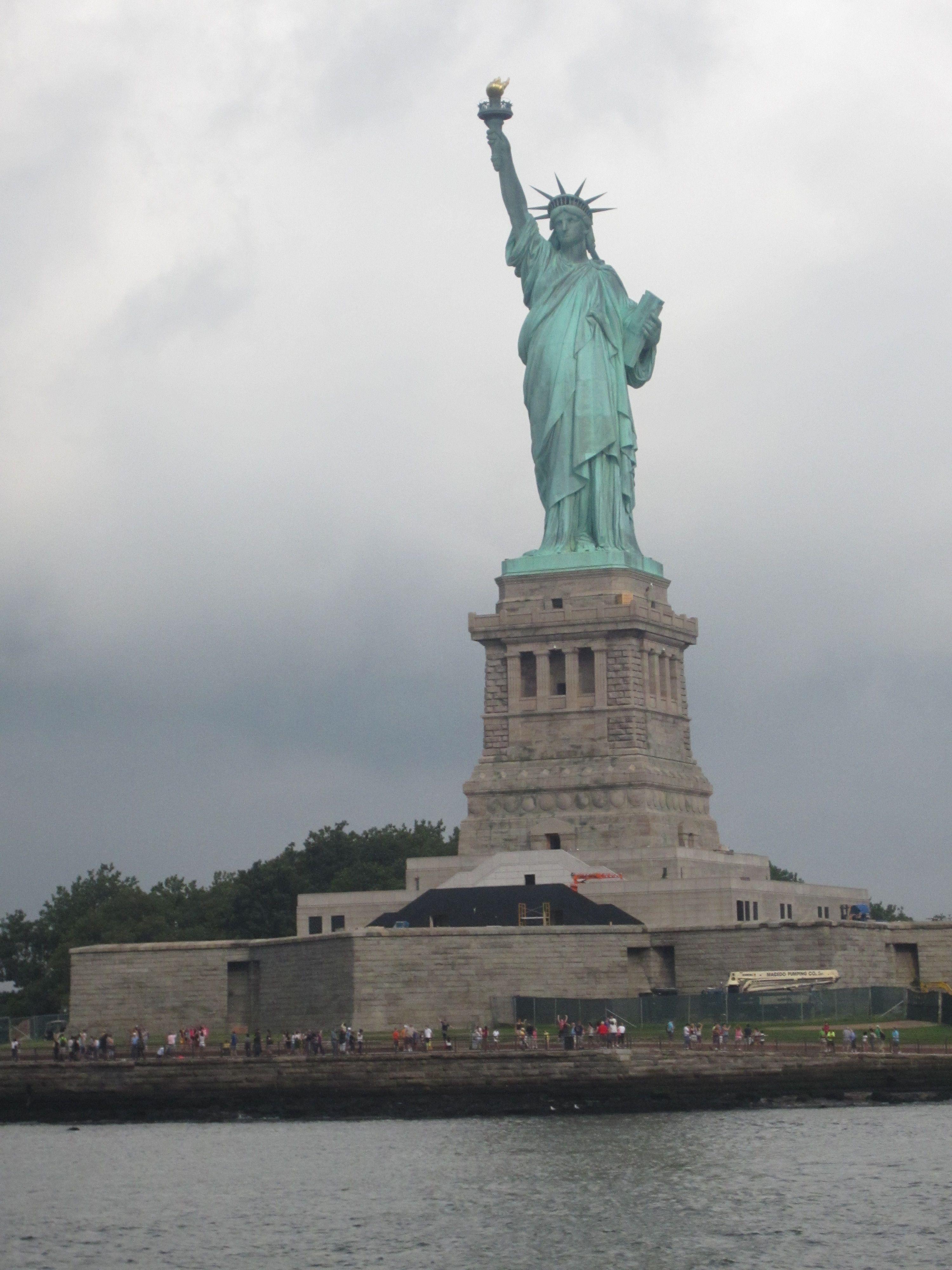 Statute of Liberty - been inside her head