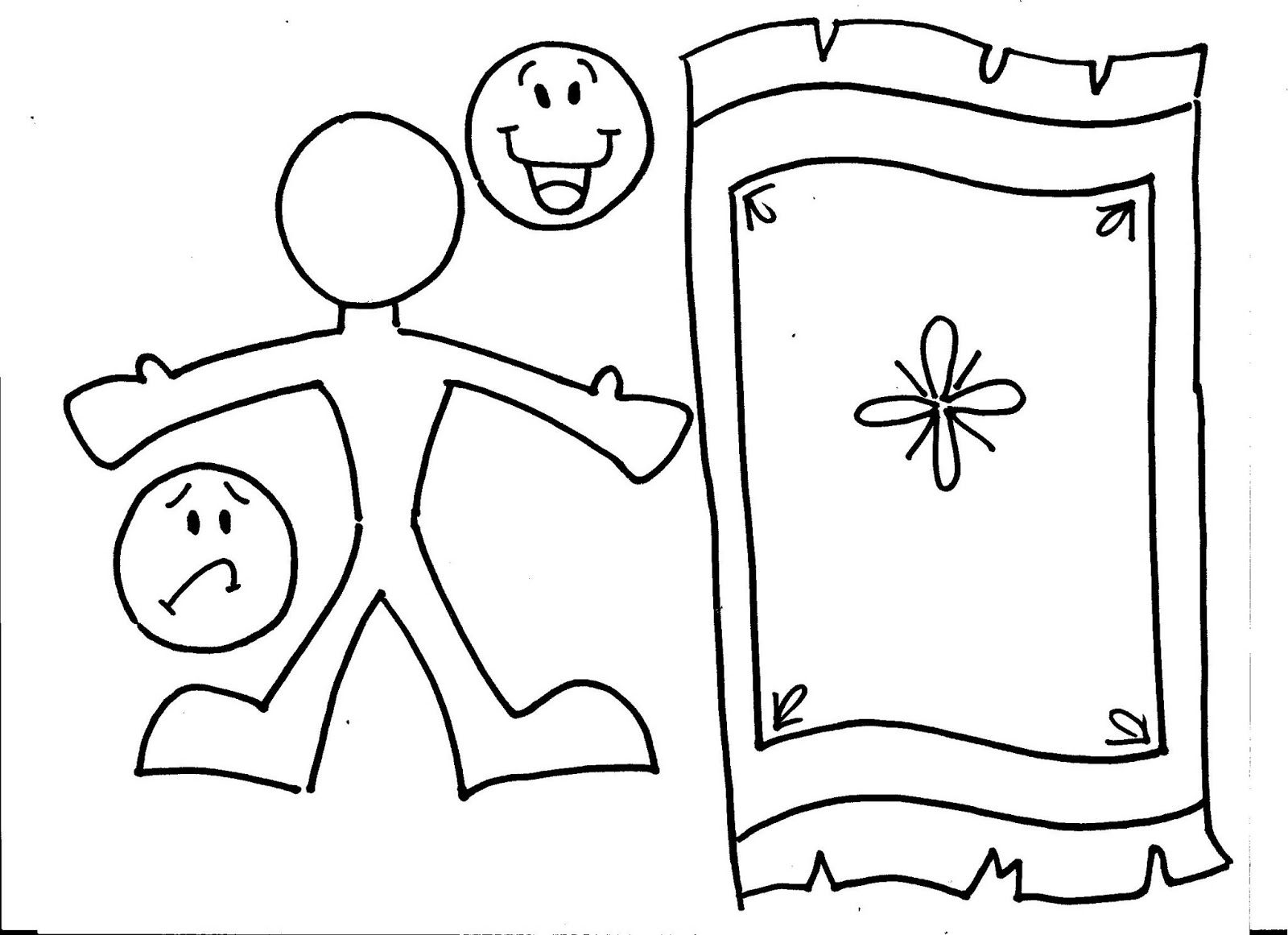 Clip Art Jesus Heals The Paralytic Coloring Page 1000 images about jesus heals the paralytic man on pinterest crafts new living translation and maze