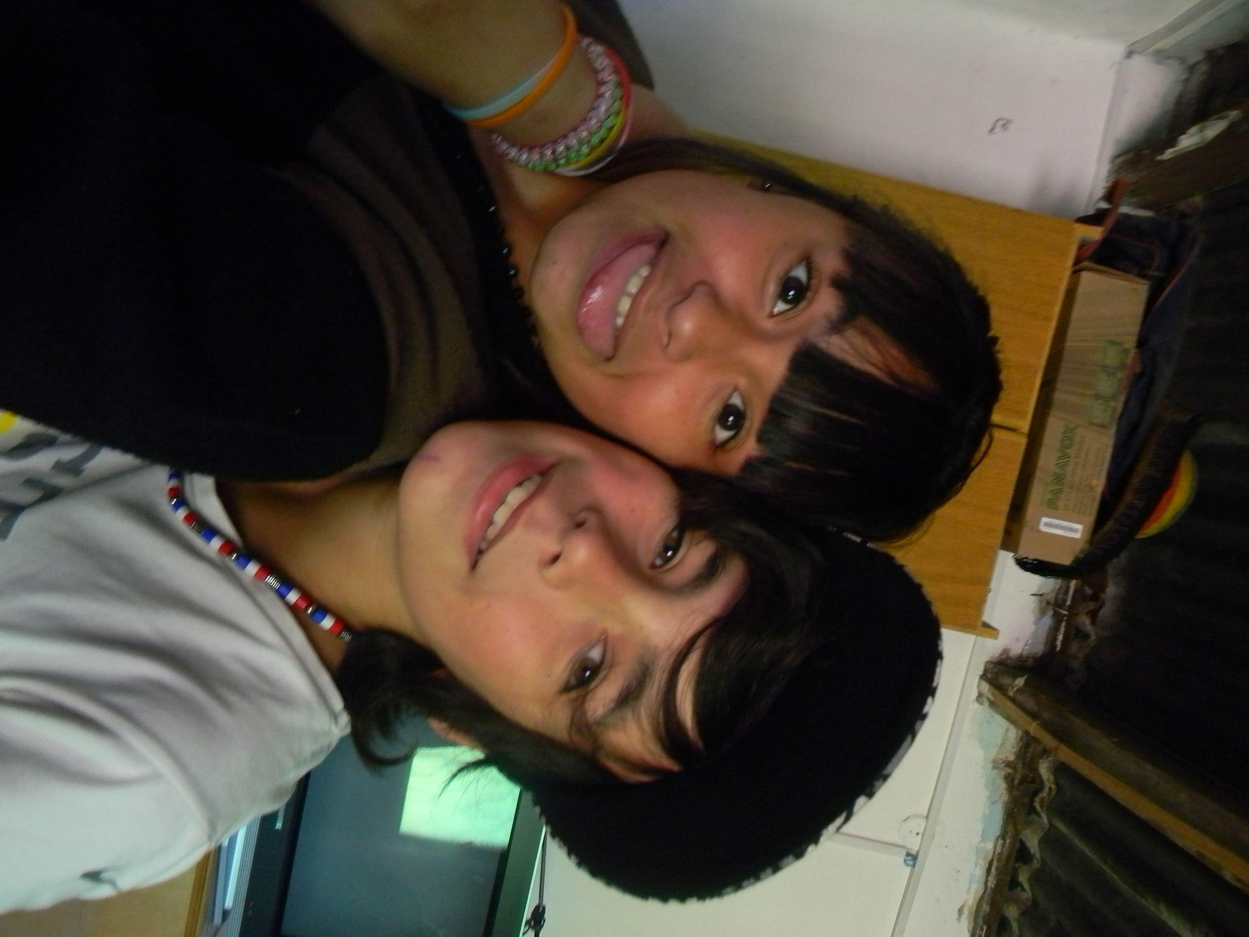 Mi hermosa saobrinita y yo
