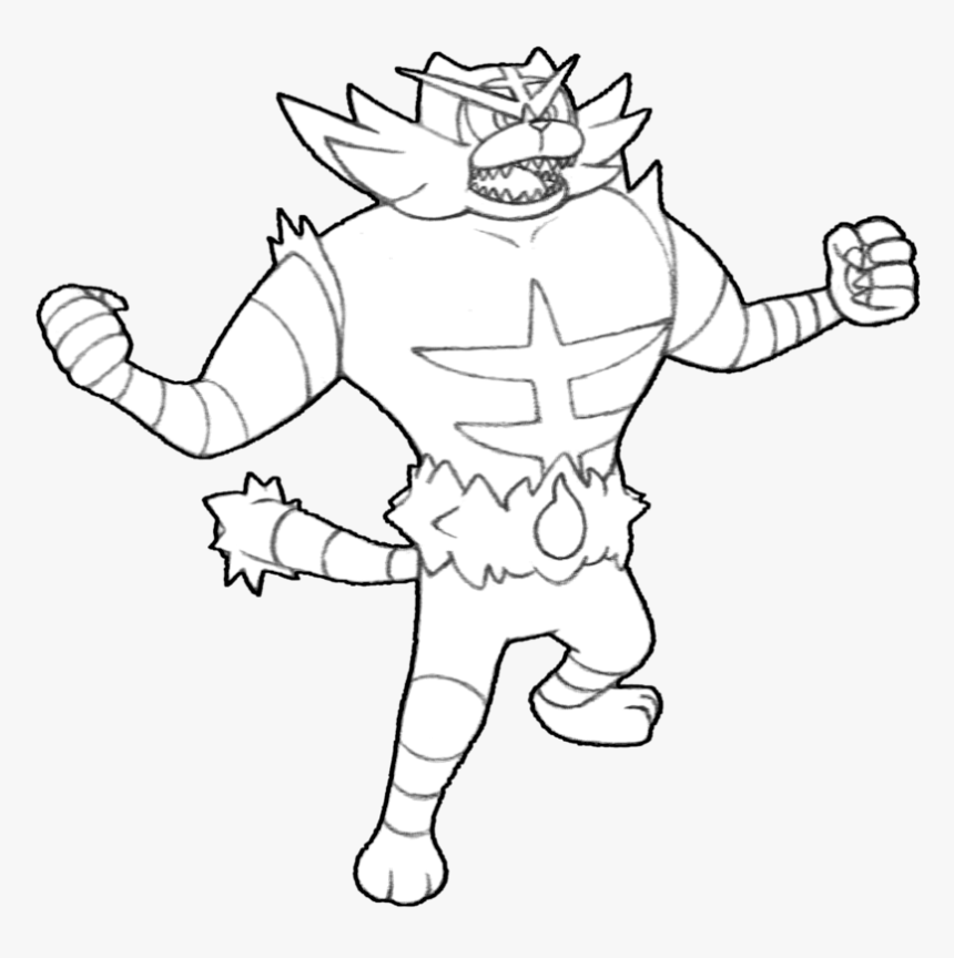 28 Collection Of Incineroar Pokemon Drawing Incineroar Coloring Page Hd Png Download Is Free Transp Pokemon Coloring Pages Pokemon Drawings Pokemon Coloring
