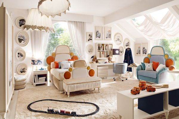NEW ALTAMODA ITALIA COLLECTIONS   White Childrenu0027s Room With Pop Up Colours.
